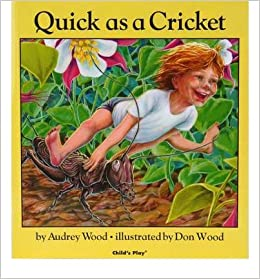 Quick As A Cricket Board Book English Spanish Common By