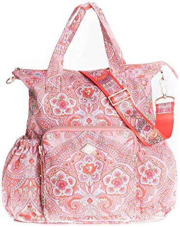Oilily Folding Ovation Backpack Shoulder Bag Old Rose