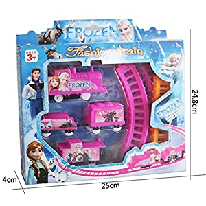 CAREGIFT Train Pathway Teach Toy Gift Toy for Kid