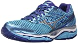 Mizuno Women's Wave Enigma 5 Running Shoe, Blue Grotto/Silver, 7 B US