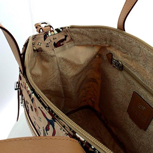 Circus A 210373088 Con Tracolla Borsa Mano 12 Magic 31x28x14 Beige Guidi Nylon Piero Grande SUn8W161H
