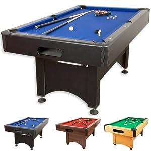 Pool Billard Billardtisch Trendline, verschiedene Farbvarianten, 5 ft,...