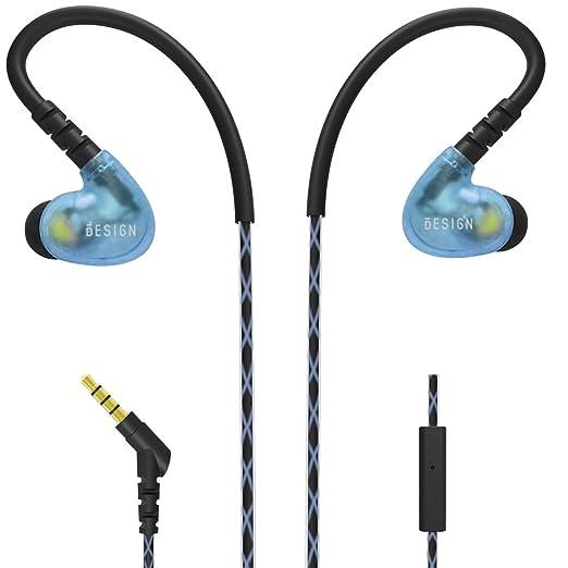 62 opinioni per Besign SP02 Sport Auricolari In Ear Stereo Auricolari, In Microfono Incorporato,