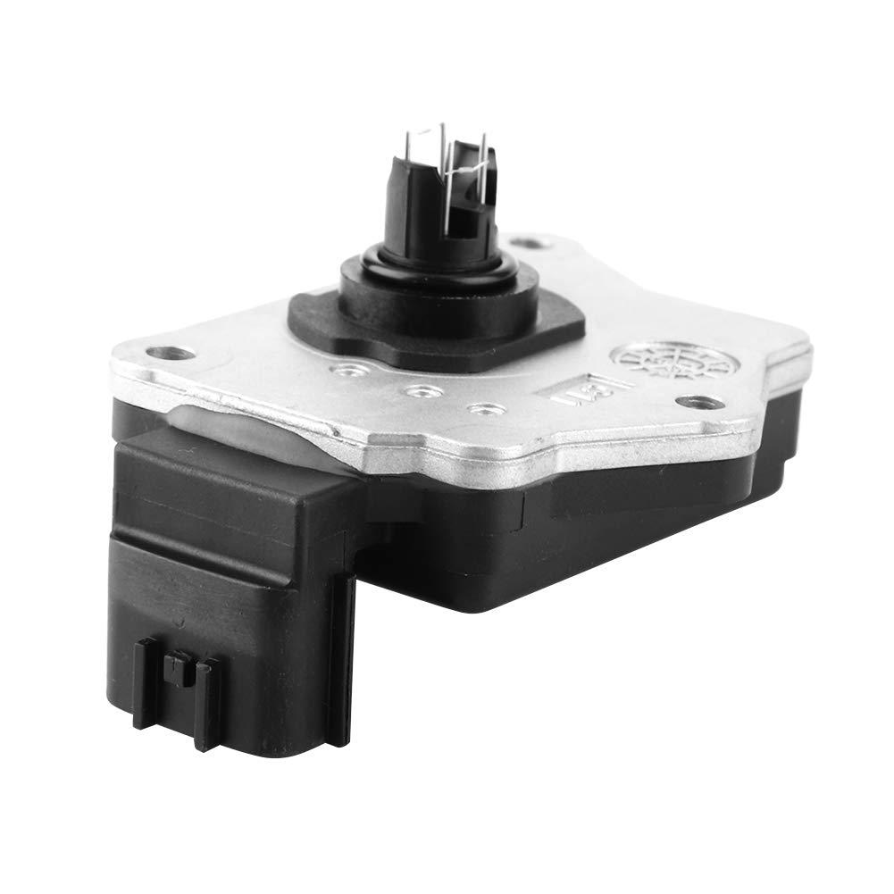Aramox Mass Air Flow Sensor,OEM 282805356101 AFH45M-46 ABS Aluminum Mass Air Flow Meter Sensor for NISSAN