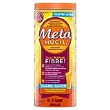 Metamucil Fiber Orange Flavour Smooth Texture, Sugar Free, 72 doses