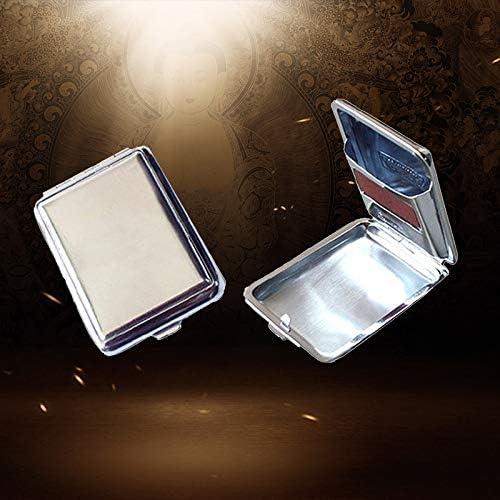 OuYou Mini Caja de Cerillas Portátil de Metal 6,5 * 4,5 * 1,5 cm: Amazon.es: Hogar