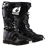 O'Neal Boys New Logo Rider Boot (Black, Size 2)