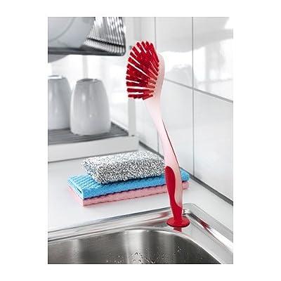 Ikea 301.495.56 Plastis Dishwashing Brush, Assorted Colors, Set of 3 by Ikea