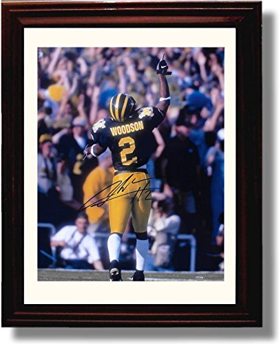 Framed Michigan Wolverines - Charles Woodson