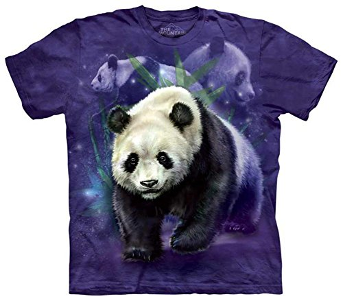 the-mountain-mens-panda-collage-t-shirt-purple-large