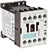 Siemens 3RT15 16-1AK60 Special Application Contactor, AC Operation, Screw Connection, S00 Size, 7.5HP Maximum HP Rating at 460VAC, 120 V, 60 Hz Rated Control Supply Voltage