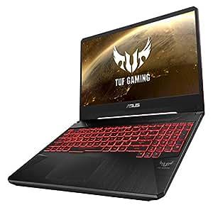 Asus TUF FX505GM-ES085T Gaming Laptop -Intel Core i7-8750H, 15.6-Inch FHD, 1TB +  256GB SSD, 16GB, 6GB VGA-GTX1060, Eng-Arb-KB, Windows 10, Black