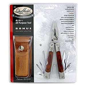 Sheffield 12810 18-in-1 All Purpose Tool