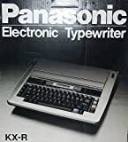 electronic word processor - Panasonic KX-R Electronic Word Processor Typewriter