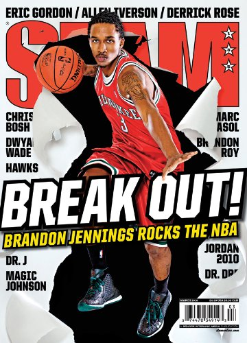 SLAM Magazine: Brandon Jennings (March 2010)