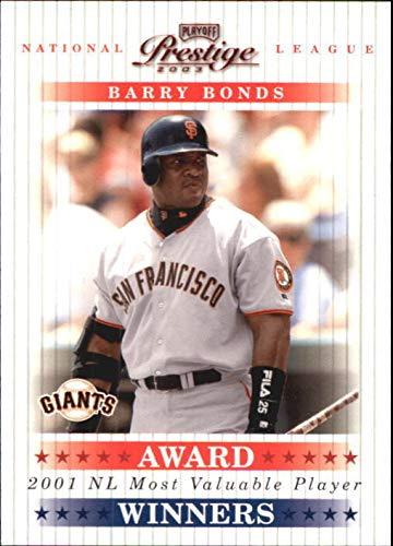 2003 Playoff Prestige Award Winners #2 Barry Bonds MVP /2001 - NM