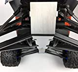 A303 for Traxxas RC1 10 ERevo E-Revo 2.0 Chassis Armor Skid Plate Front&Rear Guards Stainless Steel
