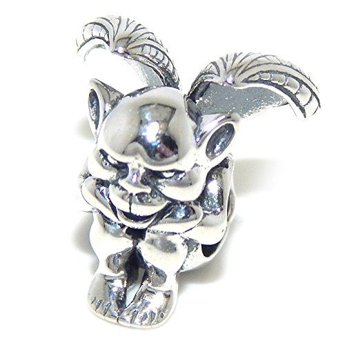 "Pro Jewelry .925 Sterling Silver ""Gargoyle"" Charm Bead 169"