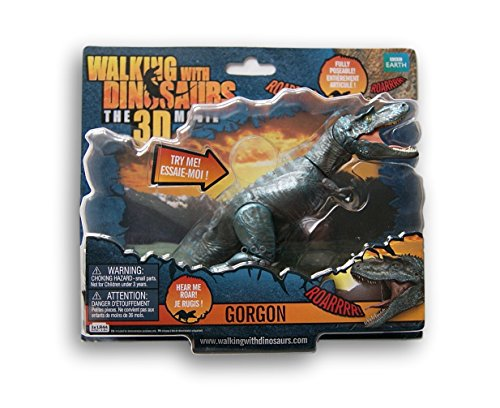 Walking with Dinosaurs Action Figure with Sound Effects - Gorgon - 7 Inches