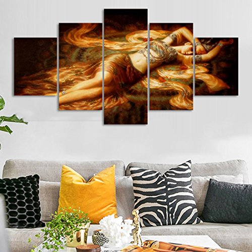 Egyptian Lady Artwork Picture for Living Room Posters