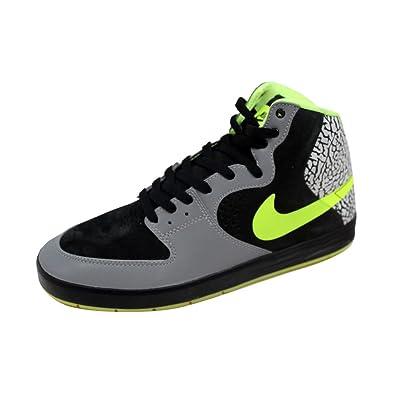 a845e8d2409b Nike Men s Paul Rodriguez 7 High Premium Metallic Silver Volt-Black  629183-030