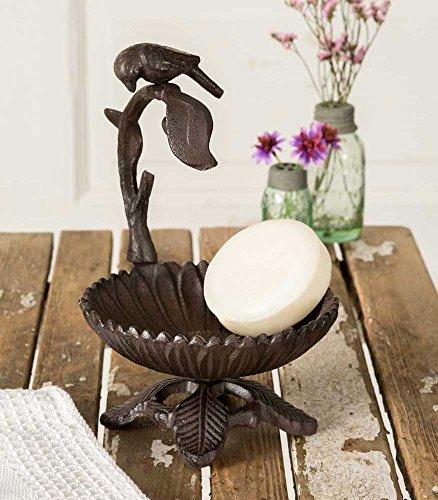 cast iron bird soap dish - 4