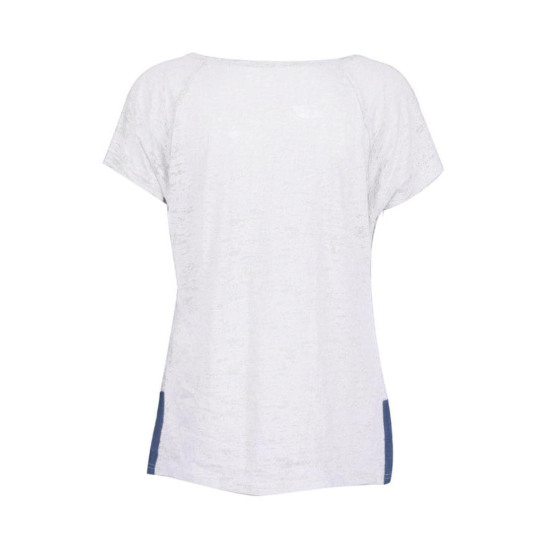 Amazon.com: Hemlock playera mujeres botón hasta T camisas ...