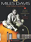 Davis Miles For Solo Guitar (Tab Book/CD)