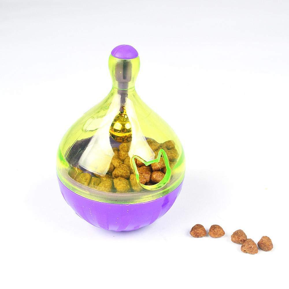 Daeou Cuenco de de Mascotas 9.5x7cm de Juguete de de Gato y la Bola Que Falta de Alimentos 61ecb8