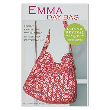 """GRAND REVIVAL /""""EMMA DAY BAG/"""" Sewing Pattern"""