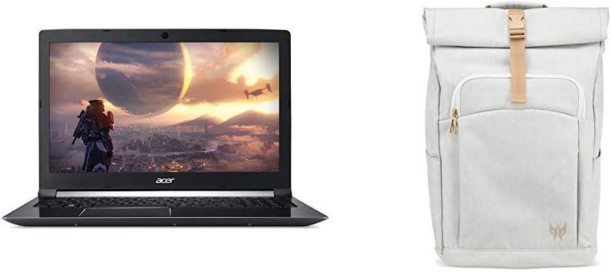 "Acer Aspire 7 Casual Gaming Laptop, 15.6"" Full HD IPS Display, Intel 6-Core i7-8750H, NVIDIA GeForce GTX 1050Ti 4GB, 8GB DDR4, 128GB SSD + 1TB HDD, Fingerprint Reader, Windows 10 64bit, A715-72G-71CT"