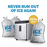 NewAir, AI-100SS, Countertop Sized Small Ice