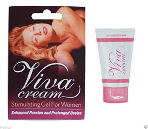 Viva Cream Stimulating Gel For Woman G Spot Orgasm Sexual Enhancement Lube 5 Pks (Enhancement Cream Sexual Female)