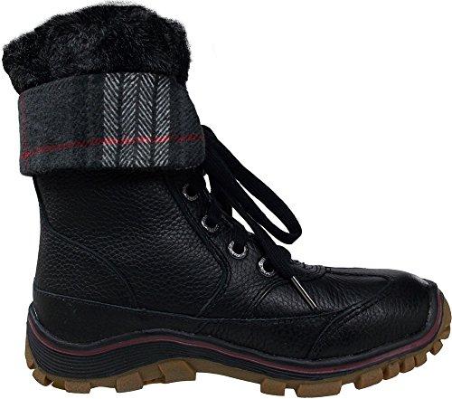 Pajar Kvinna Alice Black / Lila Snö Boot - 42
