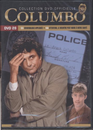 Columbo - Dvd 28 - Saison 10 - épisodes 55.Crimminologie appliquée. 56.Attention, le meurtre peut nuire à votre santé ()