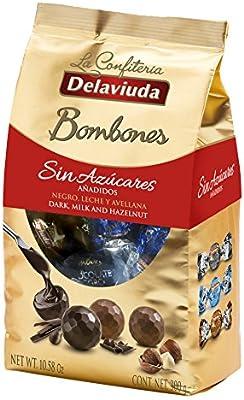 Delaviuda Bombones De Chocolate Sin Azúcares Añadidos ...