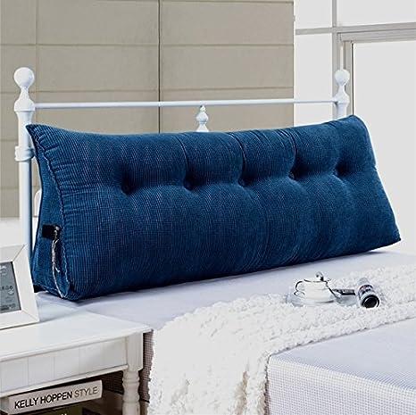 Lado de la cama grandes cojín lumbar acolchado del respaldo ...