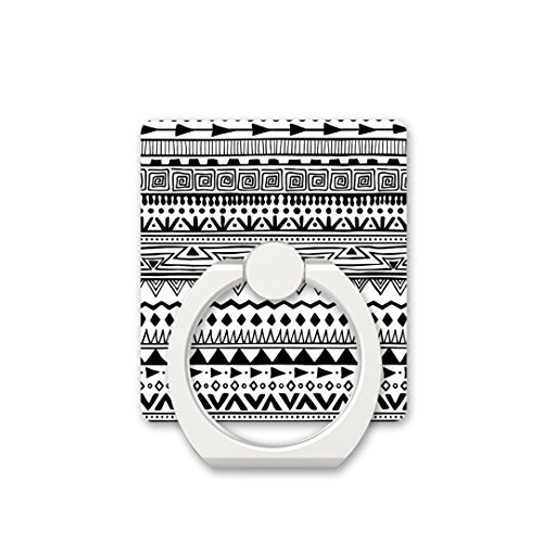 Pedestal Style Cluster - Finger Ring Stand Cell Phone Ring Holder Bracket Kickstand for Phones - Boho Style Pattern