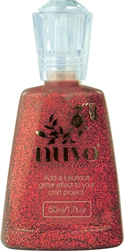 Nuvo - Glitter Accents - Winter Cranberry - 943n