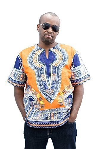 Pafric Designs African Clothing Dashiki for Men and Women