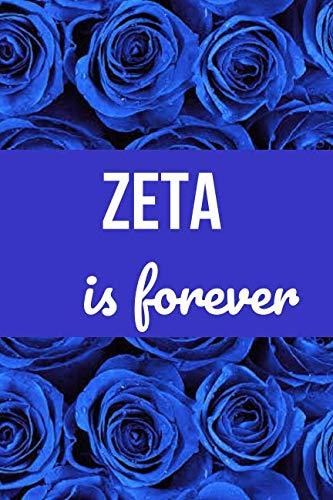 (Zeta is Forever: Blank Lined Journal )
