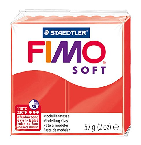 Fimo Soft Modelling Clay, Indian Red, 57 g ()