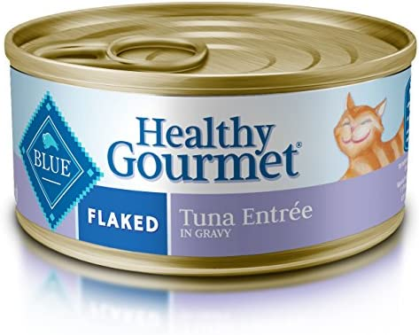 Blue Buffalo Healthy Gourmet Natural Adult Flaked Wet Cat Food