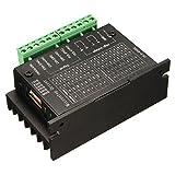 Stepper Motor Driver Controller - SODIAL(R) 20KHZ CNC Single Axis TB6600 2/4 Phase Hybrid Stepper Motor Driver Controller Black