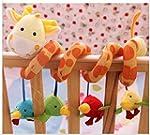 SODIAL(R) Giraffe Baby Crib Activity...