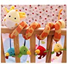 AQURE® Giraffe Baby Crib Activity Spiral Stroller Toy  from Crystalcity-6662