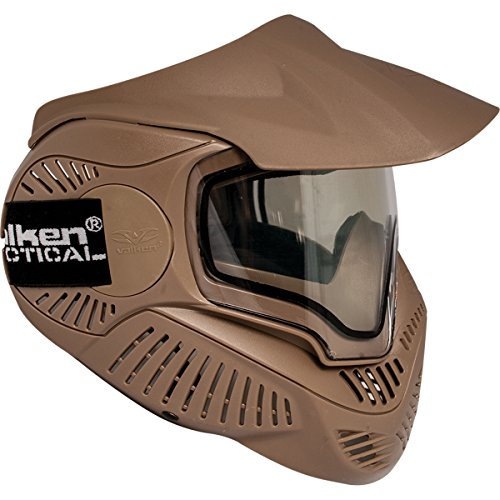 (Valken Paintball MI-7 Goggle/Mask with Dual Pane Thermal Lens -)