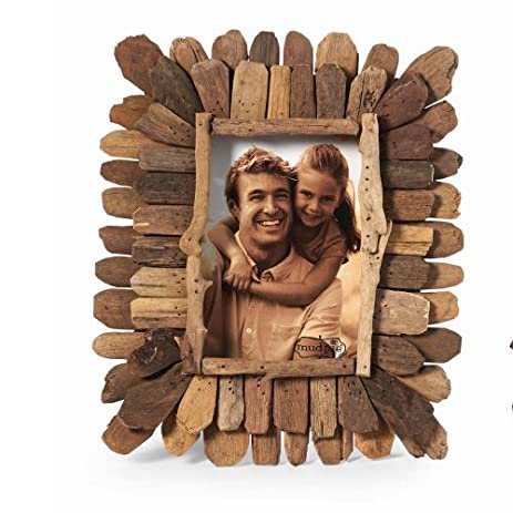 mud pie driftwood frame large - Driftwood Picture Frame