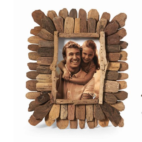 Mud Pie Driftwood Frame Large