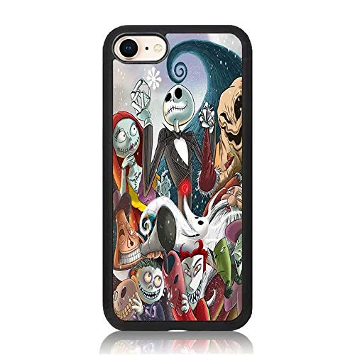 Nightmare Before Christmas Phone Case.Amazon Com Nightmare Before Christmas Print Iphone 7 Plus